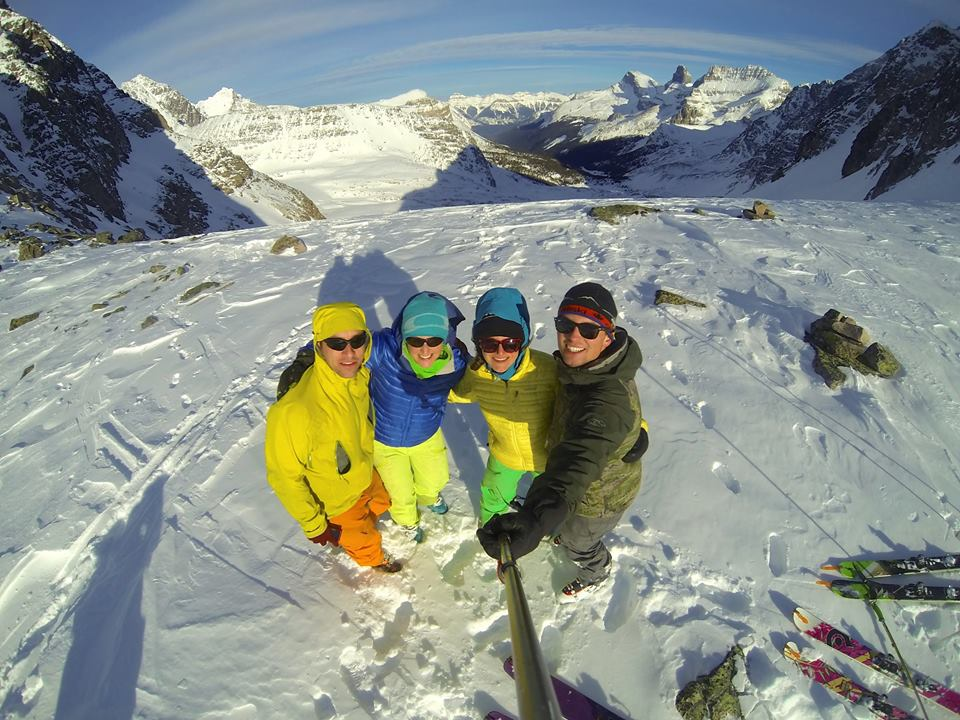 Skier group shot! Photo credit: Brendan Paton